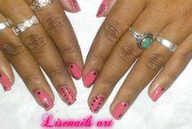 Nail art water decal