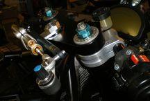 Motorcycle parts or prototype bikes / Prototype motorcycle or motorcycle parts