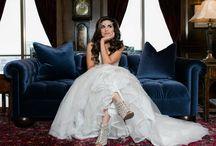 Dallas Petroleum Club Bridal Session