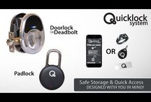 "The QuickLock Kickstarter campaign / The world's first Bluetooth and NFC doorlock and padlock security solution that works for everyone. The Quicklock not only works using your Bluetooth enabled smartphone, but also uses NFC technology in the form of a ring, FOB, wristband or label. The Quicklock line also boasts an impressive ""2-year"" battery life as well!  ORDER TODAY ON KICKSTARTER https://www.kickstarter.com/projects/803297985/the-quicklock-system-nfc-and-bluetooth-locking-sys"