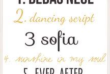 Computer Fonts / by Myrna Martinez Weller