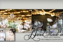 Weddings Hartbeespoort / Event fairy light draping decor done by HandMade etc. fairy light draping. Fb: https://www.facebook.com/Handmade-etc-Fairy-Light-draping-539732749516163/