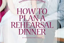 Rehearsal Dinner / by Crystal Smiecinski