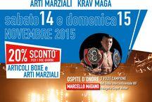 STAI IN GUARDIA!Evento Boxe e Arti Marziali!14&15 novembre 2015 / STAI IN GUARDIA!L'evento sportivo su boxe e arti marziali!14-15 novembre: SCONTO 20%!http://bit.ly/1MHnaju