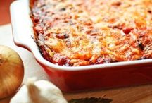 Vegetarian recipes / Healthy meals made with fresh vegetables for vegetarians or those looking for a healthy lunch option.
