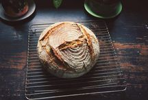 bread / Bread baking for Lunch Lady Magazine.