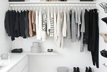 Wardrobe small space