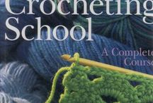 Crochet & knitting stitches / Haakideeen