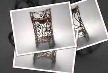 Aromaterapie / Mai multe creatii in cupru , otel inoxidabil sau sticla gravata, gasiti pe site-ul de prezentare: http://hadarugart.weebly.com