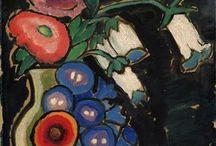 Gabriele Münter bloemen en stillevens