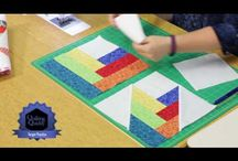 Scrappy Tube Quilting with Strips