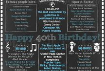 Aniversário 40 anos