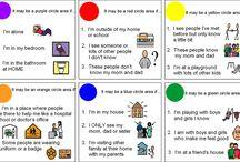 social skills instruction- circles