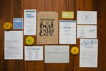 save the dates/invites/programs / by Stacy Noechel