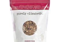 #EatPurely / delicious recipes created with purely elizabeth oatmeal + granola #glutenfree  www.purelyelizabeth.com