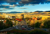 Where we call home - Boise, ID / This is a lovely place we like to call home. Few visit Boise without falling head over heels for it.