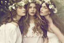 Flower Crown / Whimsical and romantic flower crowns for the pixie, fairy or boho bride