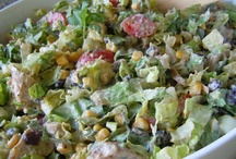 Meat Based Salad Recipes / by Rose Stumbaugh