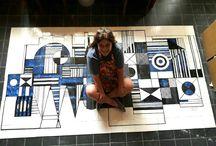 Murales cerámicos / Realizamos por encargo murales sobre soporte cerámico. Decorativos, artísticos o corporativos pintados a mano alzada sobre soporte cerámico para exterior o interior. Todas las imágenes. Todos los tamaños.