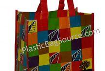 Wholesale Shopping Bags / Plastic Bag Source offers the custom printed plastic bags, custom printed laminated bags, and custom printed reusable bags.