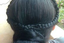 my work / hairstyles