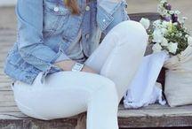 Jean white
