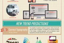 Infografiche web & social media
