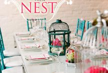Welcome/feather nest party