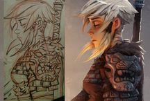 Character rendering