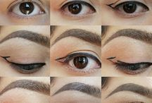 Make-up- hooded eyes