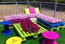 идеи детского уголка в саду