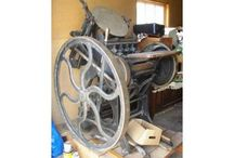 Stop the presses! ... vintage printing press / VINTAGE PRINTING PRESS collectors dream!