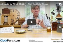 Clock Making / Find the Best in Clock Making:  Excellent Video Training, Creative Ideas, Great Clock Inserts and Clock Movements at Superior Prices!