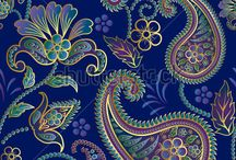 Paisley / Paisley or Paisley pattern is a term in English for a design using the boteh or buta, a droplet-shaped vegetable motif of Persian origin. Such designs became very popular in the West in the 18th and 19th centuries, following imports of post-Mughal versions of the design from India, especially in the form of Kashmir shawls, and were then imitated locally.