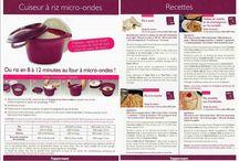 Tupperware riz recette