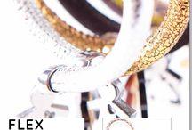 FLEX Leather bracelet / Bracciali FLEX in vera pelle italiana by birikini emotions - Collezione A/I 2014 2015 - Distribuiti in tutta Italia da Settembre - www.ibirikini.com