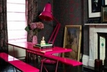HOT PINK DECOR / Decorating with Hot Pink? This board is filled with inspiration for adding Hot Pink to your home's interior. / by PANYL