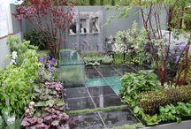jardin cubiste