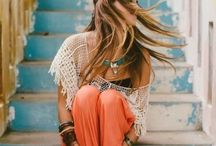 Bohemian / Boho / Hippie fashion....looove it