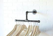 clothing rak