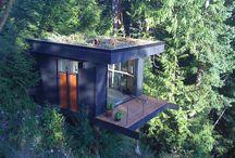 log homes / by Lisa Bridges
