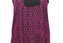 Plus Size Camisole & Singlets / Colorful cami tops and singlets for curvy women.