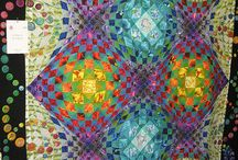 Quilting Art abstract