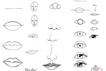 yüz çizimleri