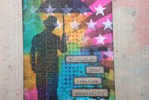 Layering stencils