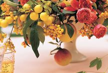 Low Centerpieces / Sonoma, Napa Valley, Wine Country, Vineyard, Winery Wedding flowers, bouquets, centerpieces, receptions, / by Fleurs De France