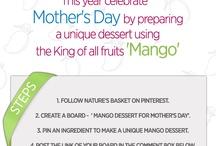 Mango dessert for Mother's Day