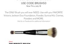 Victoria Jackson Promotions / Save at Victoria Jackson Cosmetics! Visit us at www.vjcosmetics.com