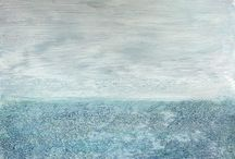 Jane Rushton / Jane Rushton was born in Lancaster in 1955. Her art has always been rooted in landscape and expresses something of the experience of being within the northern environments to which she is drawn, rather than depicting them directly. She is now based in Mallaig in the West Highlands.