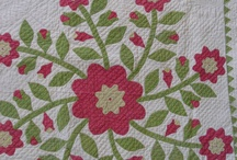 Red and Green Applique Quilts